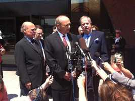 DiMasi was found guilty on federal corruption charges in June 2011.
