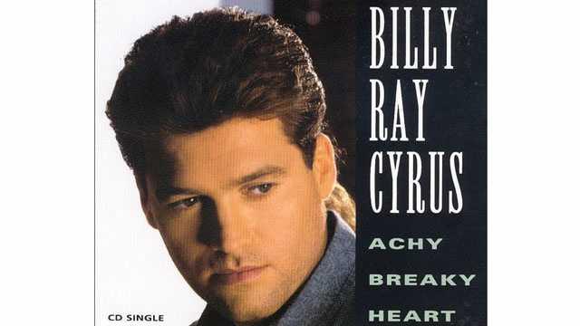 Billy Ray Cyrus Achy Breaky Heart CD single