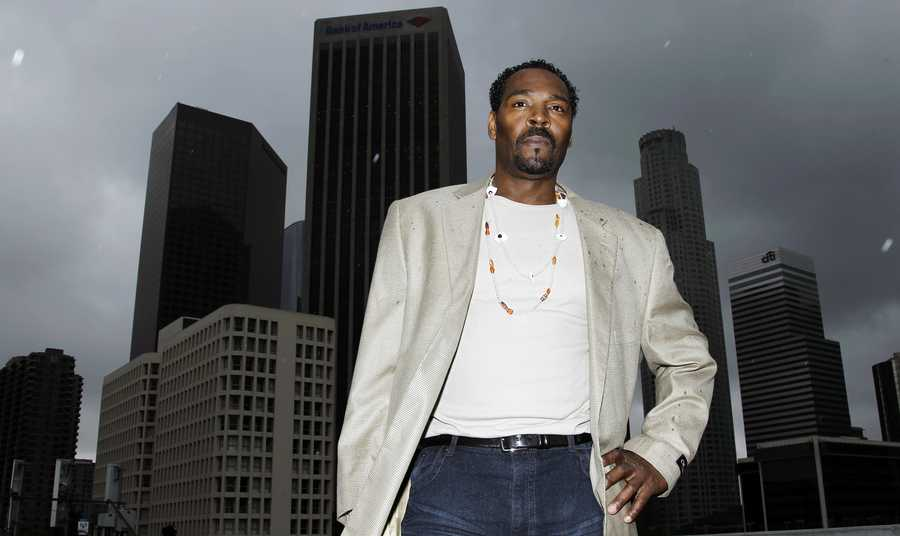 Rodney King's beating by Los Angeles police in 1991 was caught on camera and sparked riots after the acquittal of the four officers involved. King's beating after a high-speed car chase and its aftermath forever changed Los Angeles, its police department and the dialogue on race in America. (April 2, 1965 - June 17, 2012)