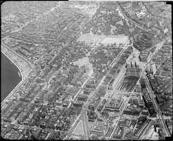 An aerial view of Beacon Hill, 1930s.