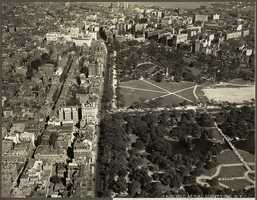 An aerial view of Beacon Hill from the 1930's.