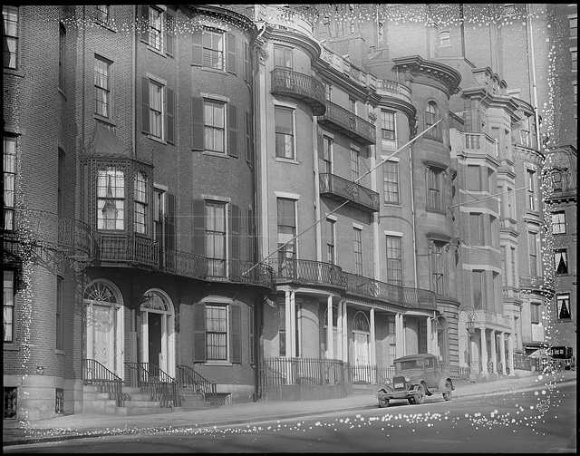 Beacon Hill then and now.