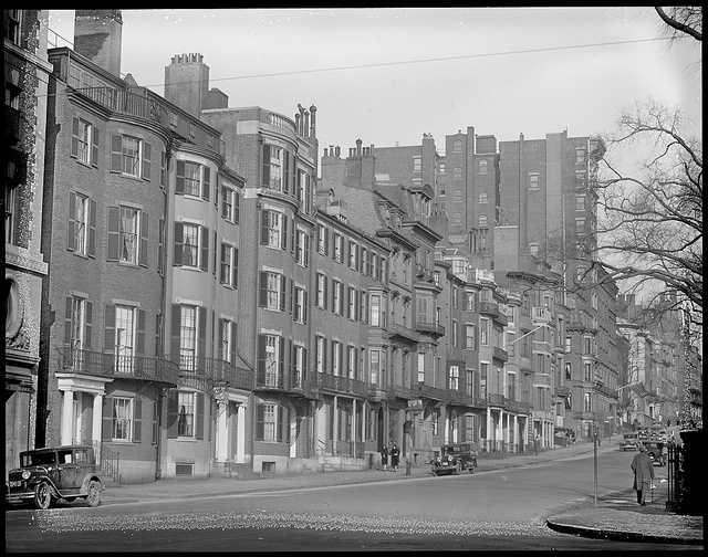 All historic photos are courtesy The Boston Public Library.