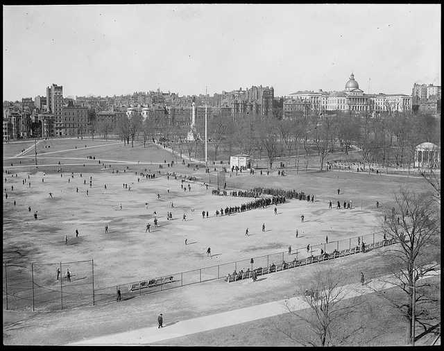 The Common is the oldest park in the country.