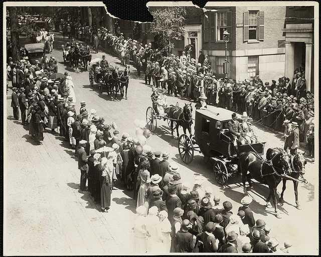 Old Boston Celebration parade, 1920's.