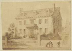 British soldiers pillaged the house in 1775, and part of it was occupied by wounded soldiers from the Battle of Bunker Hill.