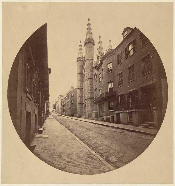 Grace Church (1835-1865) was an Episcopal church in Beacon Hill.