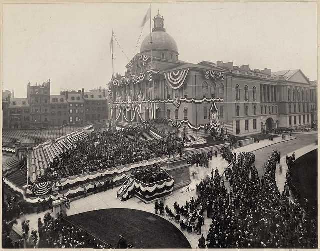 State House celebration, 1903.