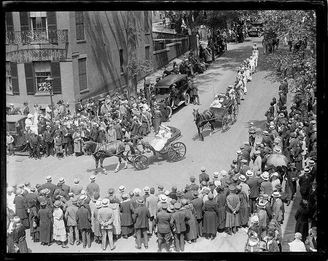 Old Boston celebration, 1924.
