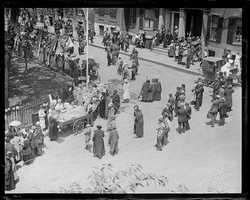 Old Boston Day celebration, 1920.