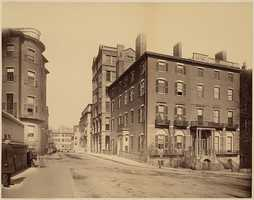 A view of Mt. Vernon Street in an undated photo.