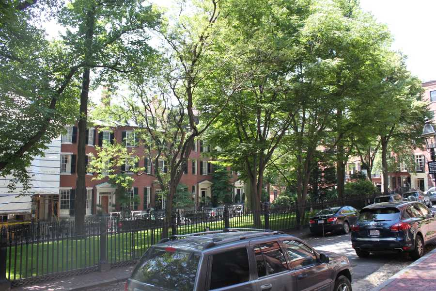 Today it's an exclusive section of Beacon Hill, boasting famous residents such as Senator John Kerry.