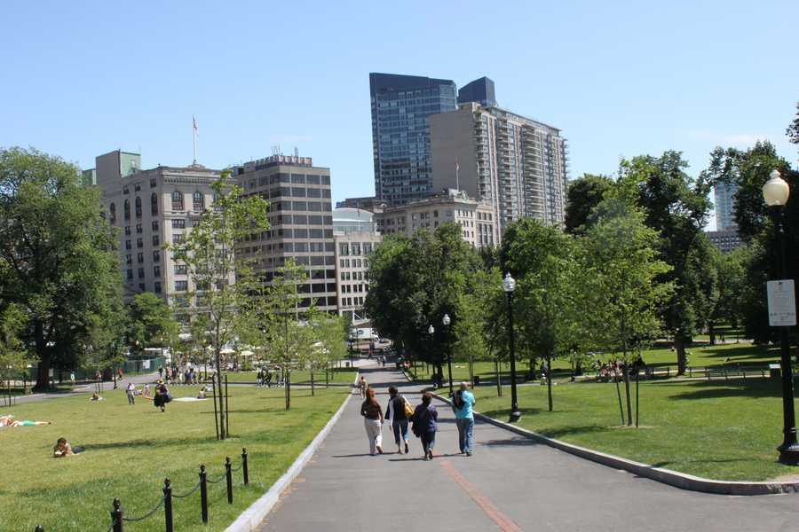 Prominent individuals such as Martin Luther King Jr. and Pope John Paul II have made speeches on Boston Common.