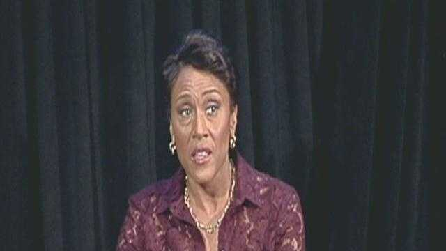 ABC's Robin Roberts speaks at Harvard medical School