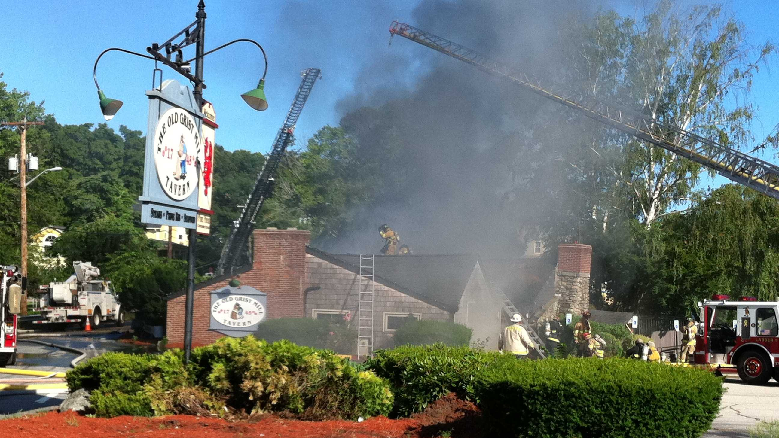 Seekonk restaurant fire