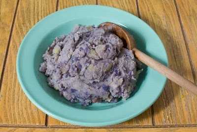 Mood-Boosting Food #3: Blue Potatoes