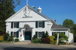 #46 West Newbury. The average property tax on a home in 2010 was $6,742