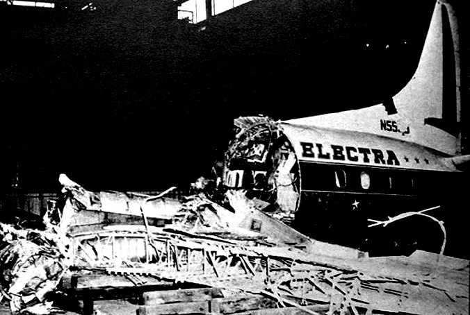 Eastern Air Lines Flight 375 crashed on takeoff on October 4, 1960, at Logan Airport. The Lockheed L-188 Electra crashed into Winthrop Bay after its engines ingested a flock of starlings. Of the 72 passengers and crew, 10 survived.