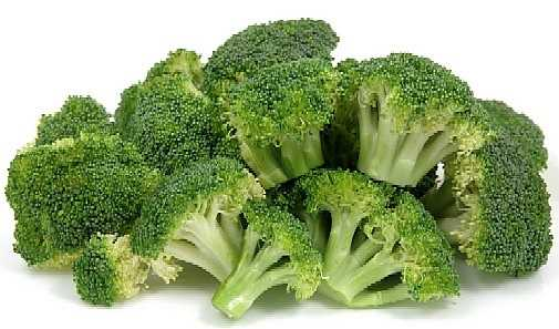 In addition to being high in fiber and packed with nutrients, one cup of broccoli contains as much protein as a cup of rice or corn with half the calories.