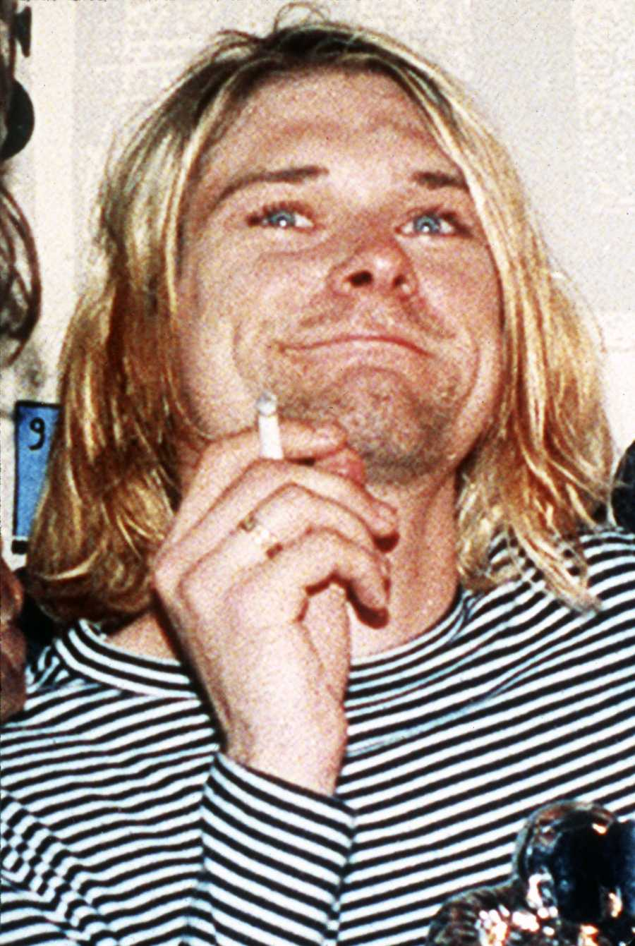 Kurt Cobain was best known as the lead singer and guitarist of the grunge band Nirvana.During the last years of his life, Cobain struggled with heroin addiction and depression. He used a shotgun to kill himself. (February 20, 1967 – April 5, 1994)