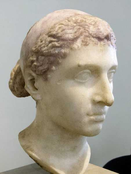 Cleopatra, Queen of Egypt, who killed herself by inducing an Egyptian cobra or asp to bite her. (69 BC – August 12, 30 BC)