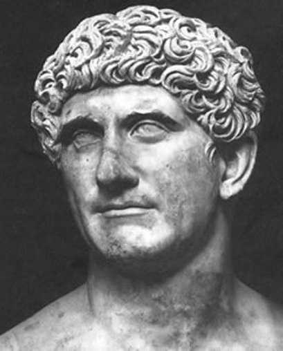Mark Antony was a Roman politician and general. (January 14, 83 BC – August 1, 30 BC). Death by sword.