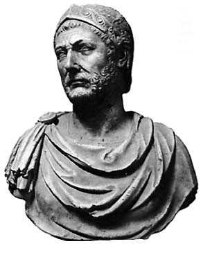 Hannibal was considered one of the greatest military commanders in history. Rather than fall to his enemies, he took poison. (247 – 183/182 BC)