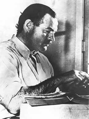Ernest Hemmingway was one of the great writers of the 20th century, who won a Nobel Prize. His works are considered classics of American literature. Death by a gunshot wound to the head. (July 21, 1899 – July 2, 1961)