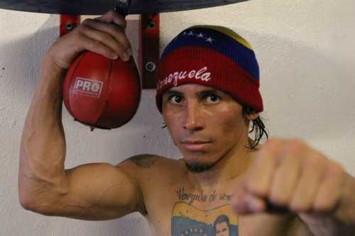 Edwin Valero was a professional boxer who was arrested after police found the body of his wife, Carolina, 24, in a hotel. The following day he was found hanging in his prison cell. (December 3, 1981 – April 19, 2010)