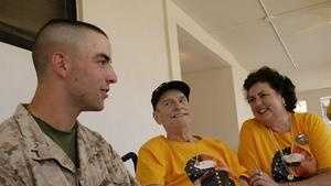A Rockland vet's wish is granted Friday