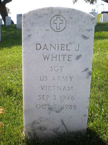 Dan White was the San Francisco public official and assassin who killed San Francisco Mayor George Moscone and Supervisor Harvey Milk. After serving a two-year prison sentence, he returned to San Francisco and killed himself. (September 2, 1946 – October 21, 1985)