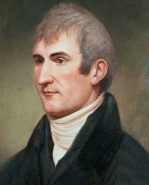 Meriwether Lewis was the explorer best known for his role as the leader of the Lewis and Clark Expedition. En route to Washington, he stopped for the night at a Tennessee inn where his behavior was described as strange.  He was found dead the next morning of multiple gunshot wounds.  (August 18, 1774 – October 11, 1809)