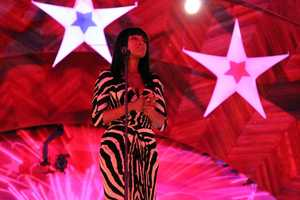 Academy Award-winning actress and Grammy Award- winning recording artist, Jennifer Hudson was the star of the 2012 Boston Pops annual July 4th concert on the Esplanade. She is seen here during the July 3rd rehearsal concert.