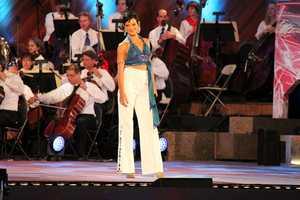 "Kaye Tuckerman performs ""The Winner Takes It All,"" from MAMMA MIA!"
