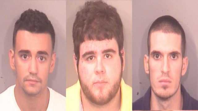 Matthew Camara, Kyle Machado, and Jordan Domonte