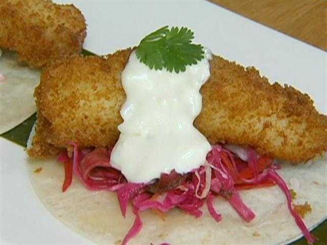 The chef buys haddock for the popular fish tacos, and ahi tua for ceviche at Boston's fish pier, across the street.