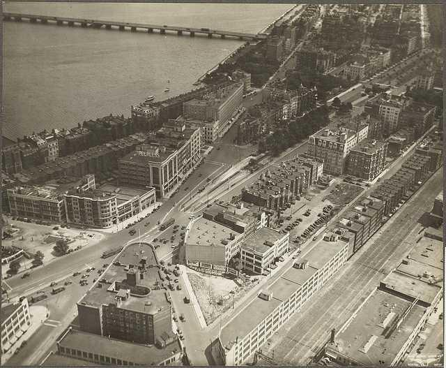 This is a view of Kenmore Square taken in 1929.