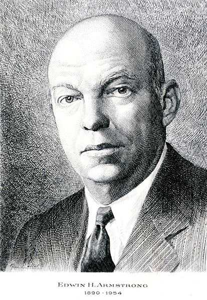 Edwin Armstrong was the inventor of the FM radio. He jumped to his death from the 13th floor of his New York City apartment after his wife left him. (December 18, 1890 – January 31, 1954)