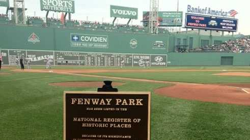 Fenway Park made the list on the National Register of Historic Places on July 7, 2012.