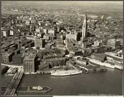 Boston, as seen from the air, has changed a great deal from 1925....