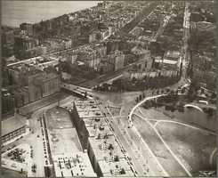 The Fenway area, Beacon and Commonwealth Avenues in 1929.