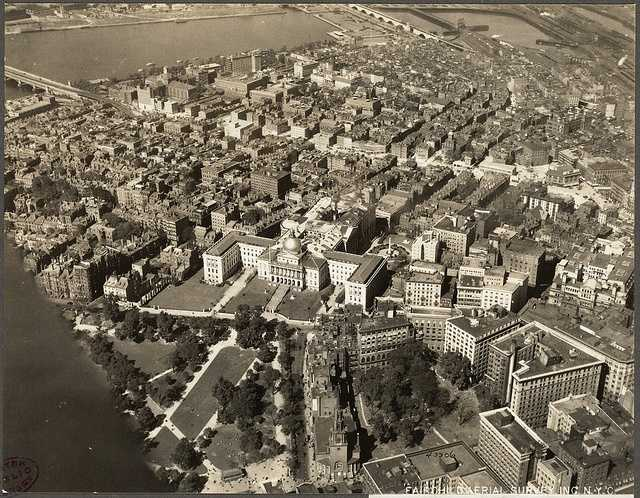 Beacon Hill and the West End in 1925