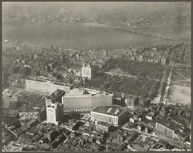 Park Square area in 1928