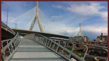 New pedestrian footbridge to link Cambridge and Boston