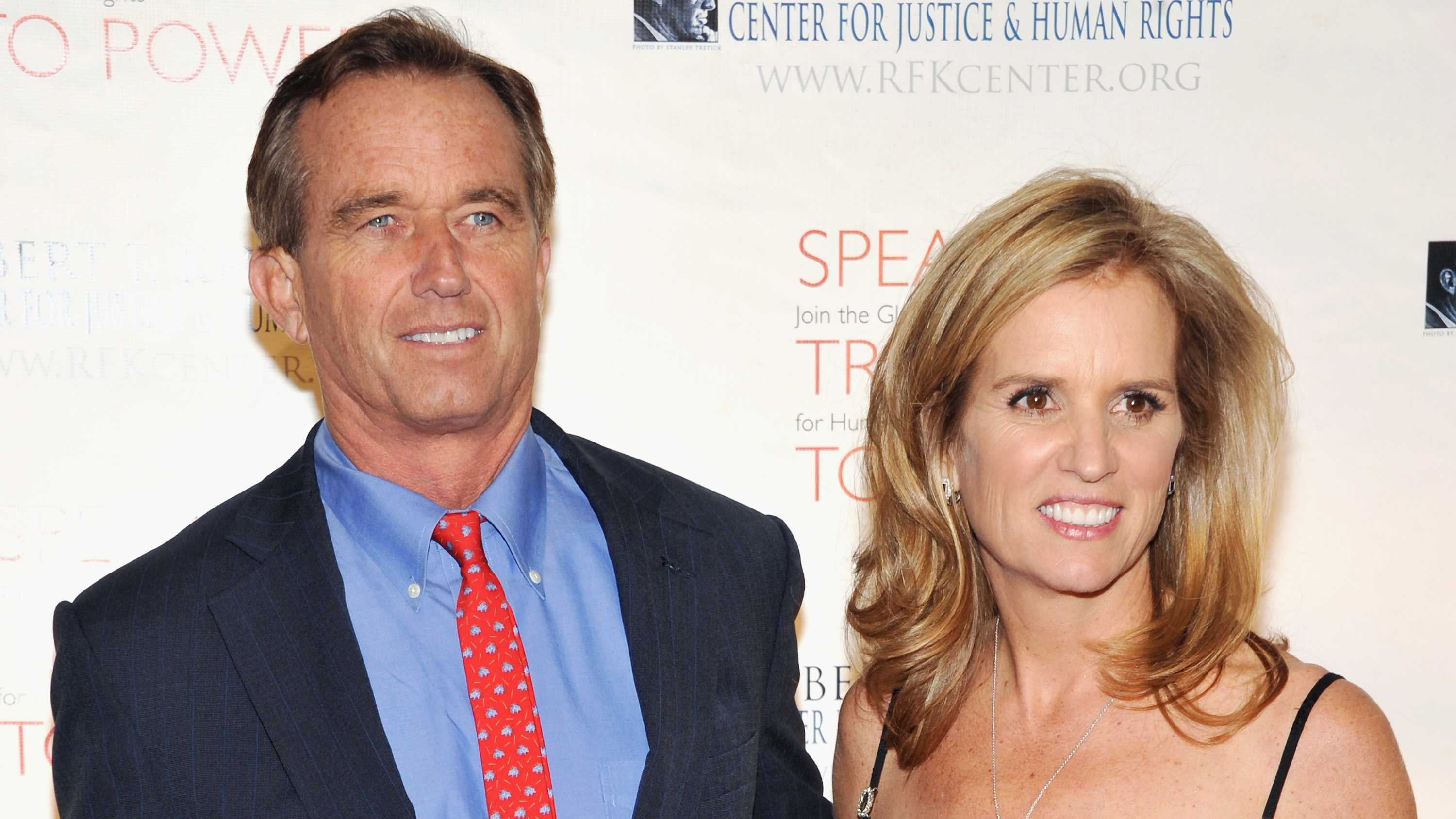 Kerry Kennedy seen here with her brother Robert F. Kennedy Jr.