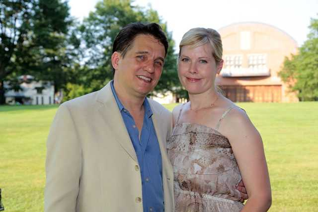 Boston Pops conductor Keith Lockhart and Emiley Lockhart.