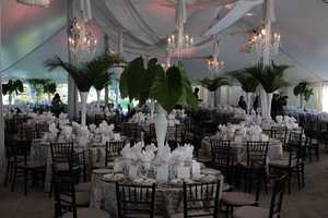 The setting for the gala reception.