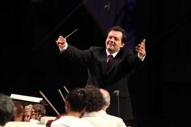 Andris Nelsons leading the BSO in his Tanglewood debut.