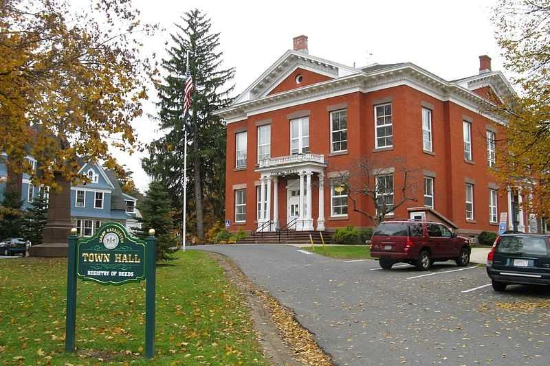 #100 Great Barrington. The average property tax on a home in 2010 was $4,914