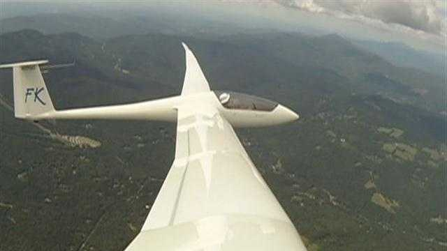 Gliding at 3,000 feet